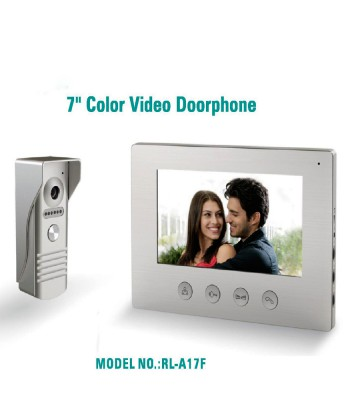 7 inches colour video doorbell